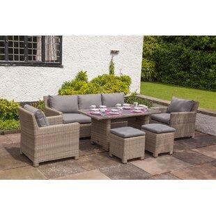 Swindon 7 Seater Rattan Sofa Set Image