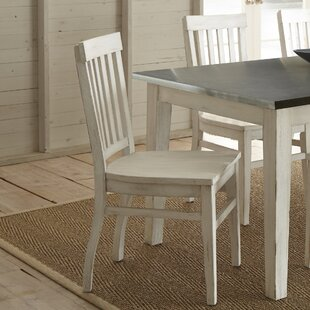 Laurel Foundry Modern Farmhouse Saint-Pierre Solid Wood Dining Chair (Set of 2)