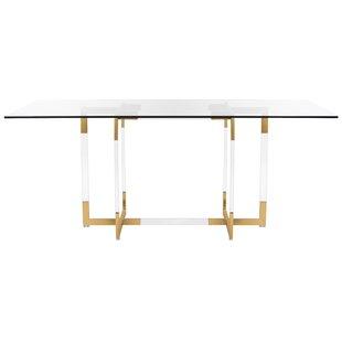 cd7f12c1c2acd4 Modern Glass Dining Tables   AllModern