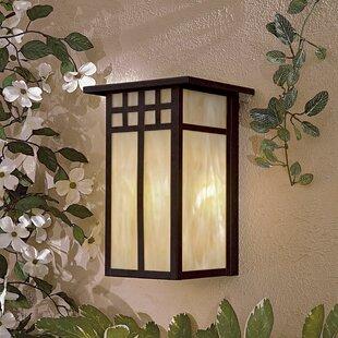 Great Outdoors by Minka Scottsdale II 1-Light Outdoor Flush Mount