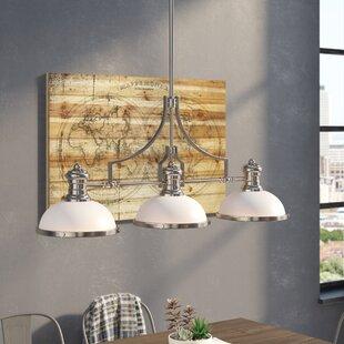 Trent Austin Design Westlake Village 3-Light Billiard/Kitchen Island Pendant