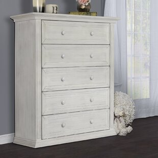 Napoli 5 Drawers Chest by Evolur