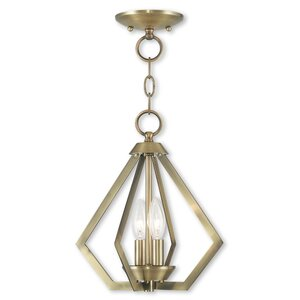 Borasisi 2-Light Foyer Pendant