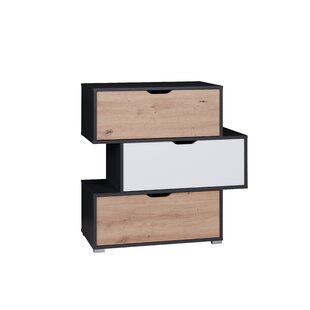 Iwa 3 Drawers Chest By Ebern Designs