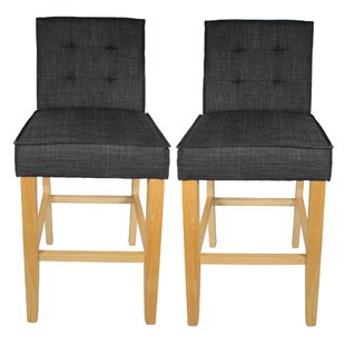 Clifford 71cm Bar Stool (Set Of 2) By August Grove