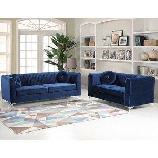 Engel 2 Piece Living Room Set by Mercer41