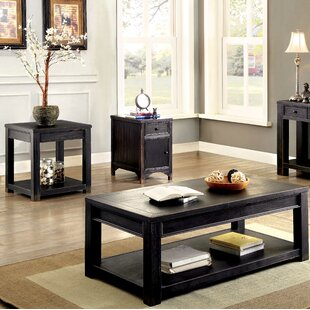 Reck 3 Piece Coffee Table Set
