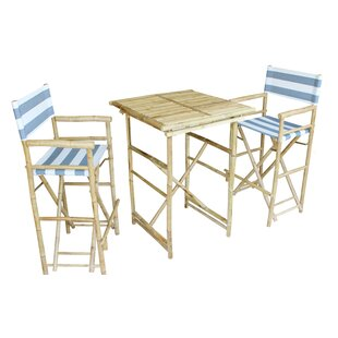 Jorah 3 Piece Pub Table Set by Bay Isle Home