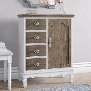 Fermont 4 Drawer Combi Chest By Fleur De Lis Living