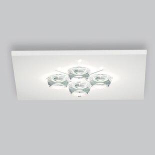 ZANEEN design Polifemo 4-Light Flush Mount