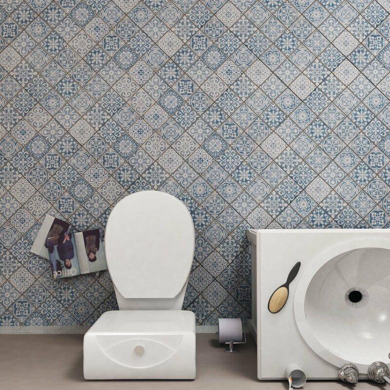 Faventie Azul 13 X Ceramic Field Tile