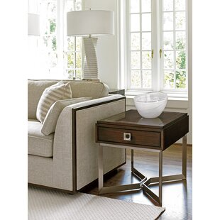 MacArthur Park Granville End Table with Storage