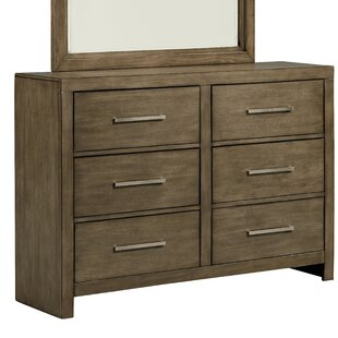 Lipscomb 6 Drawer Double Dresser