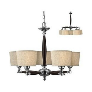Alcott Hill Leclair 5-Light Shaded Chandelier