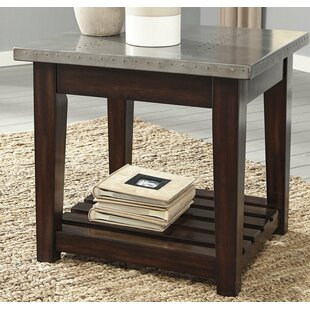 Milligan End Table by Union Rustic Purchase
