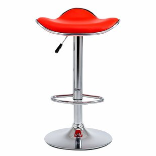 Daniela Height Adjustable Swivel Bar Stool (Set Of 2) By George Oliver