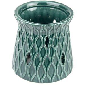 Woven Diamond Warmer Ceramic Votive