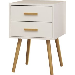 Bargain Delilah End Table With Storage by Langley Street