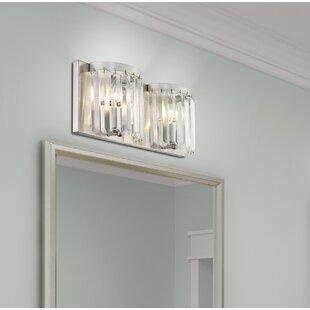 Read Reviews Caroline 2-Light Bath Bar By House of Hampton
