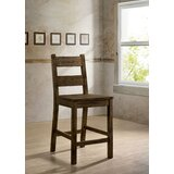Rayburn Solid Wood 24.5 Counter Stool (Set of 2) by Loon Peak®