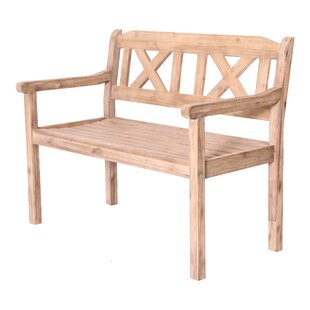 Rockchuck Wooden Bench By Union Rustic