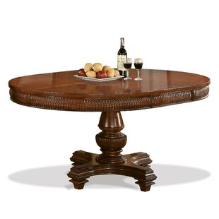 Leander Extendable Dining Table World Menagerie
