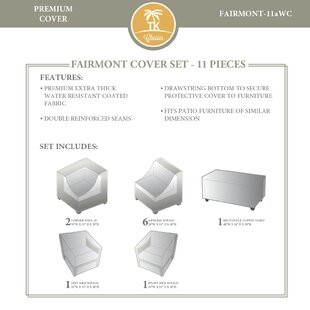 Outdoor 11 Piece Cover Set