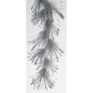Pine Needle Glitter Garland