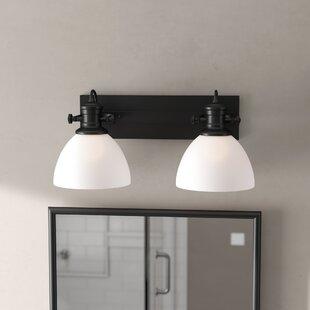 Gracie Oaks Vedder 2-Light Vanity Light
