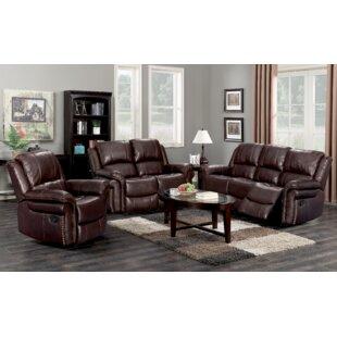 Pancoast 3 Piece Reclining Living Room Set