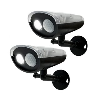 LED Solar Power Spot Light with Motion Sensor (pack of 2) (Set of 2) by Myfuncorp