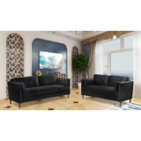 Knowles 2 Piece Standard Living Room Set (Set of 2) by Corrigan Studio®