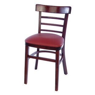 Ladderback Solid Wood Side Chair (Set of 2) Alston