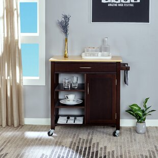 Cheryll Utility Kitchen Cart by Andover Mills