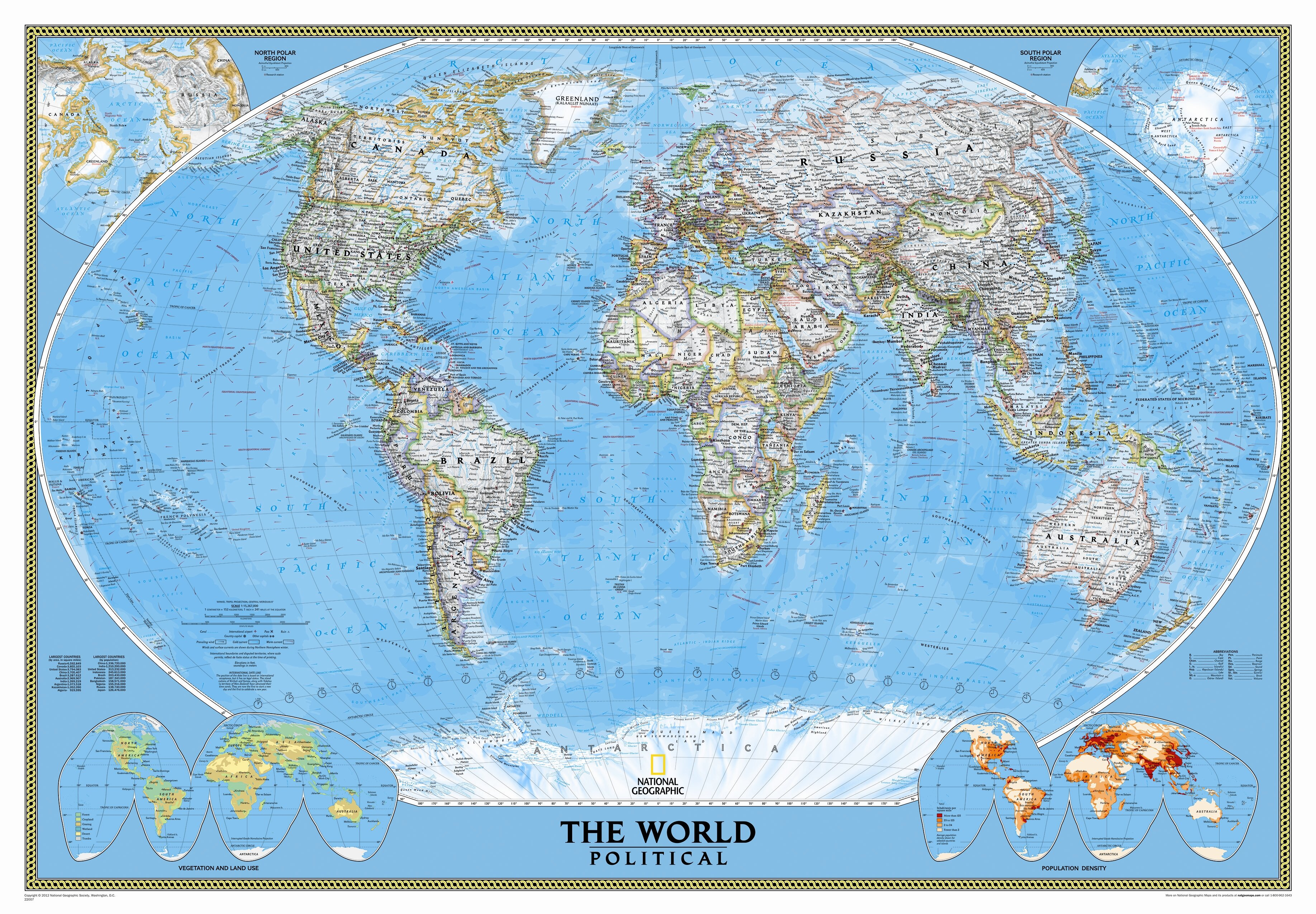 Image of: National Geographic Maps Mural World Map Reviews Wayfair Ca