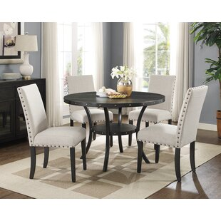 Charandeep 5 Piece Dining Set Gracie Oaks