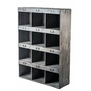 Great Sari Classic 12 Cubby Oversized Compartment Display Wall Shelf
