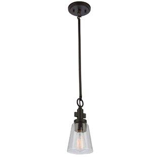 Gracie Oaks Jina 1-Light Cone Pendant