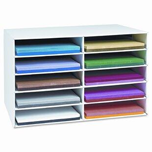 Rebrilliant Classroom Construction Paper Storage