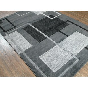 Looking for Kensley Hand-Tufted Black/Silver/Gray Area Rug By Orren Ellis