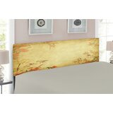 Bamboo Queen Upholstered Panel Headboard by East Urban Home