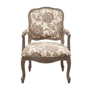 Ophelia & Co. Bayard Back Exposed Wood Armchair