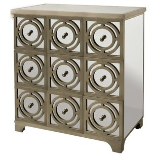 World Menagerie Nerbone 9 Drawer Accent Chest