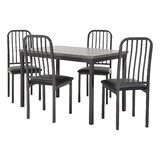 Melanson 5 Piece Dining Set by 17 Stories