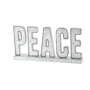 Modern Peace LED Marquee Sign By Red Barrel Studio