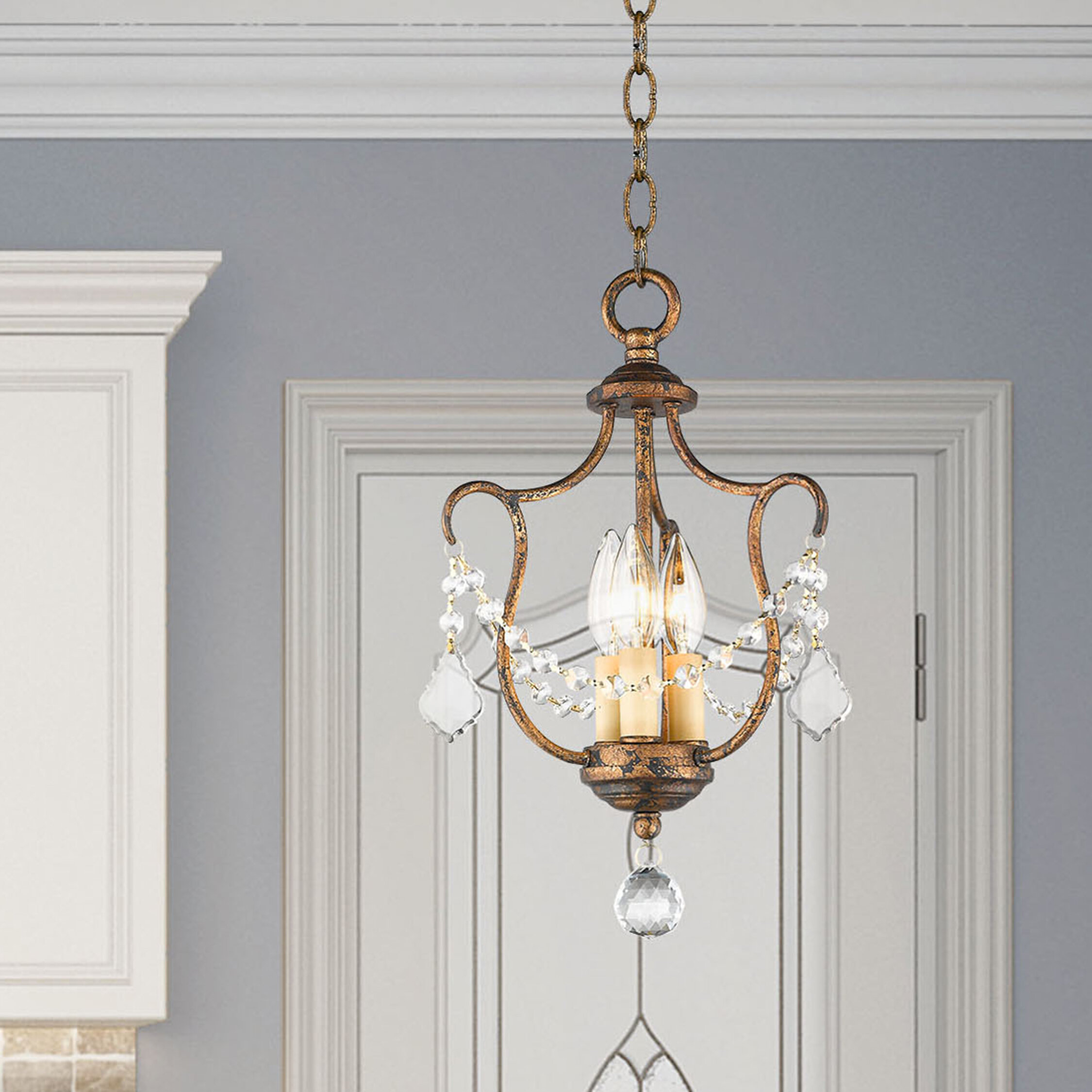 Empire Mini Less Than 14 Wide Chandeliers You Ll Love In 2021 Wayfair