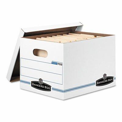 Letter//Legal, Lift-Off Lid 0071301 Standard Set-Up Bankers Box STOR//File Storage Boxes