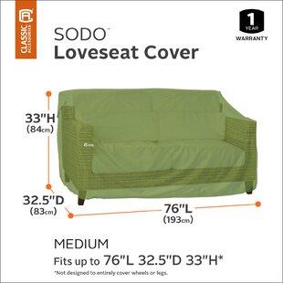 Classic Accessories Sodo Patio Sofa Cover