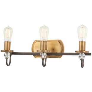 Gracie Oaks Mauer 3-Light Vanity Light