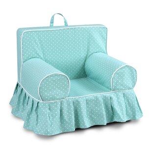 Fredrick Polka dot Skirted Kids Cotton Chair ByHarriet Bee